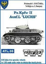 Friulmodel Atl36 1/35 Metal Track W/Drive Sprockets For Pz.Ii L Luchs