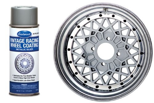 Eastwood Vintage Racing Mag Wheel Silver Spray Paint