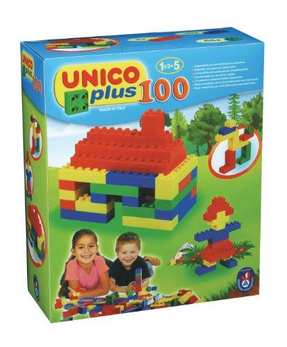 COSTRUZIONE Unico Base-Scatola 100pz 8505