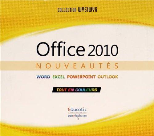 Nouveautés Office 2010