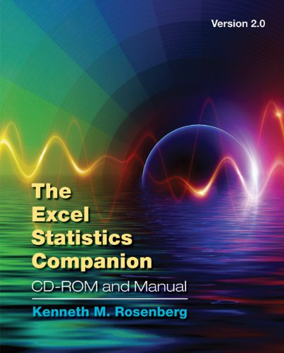 The Excel Statistics Companion CD-ROM and Manual, Version...