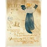 Elle par, by Henri de Toulouse-Lautrec (V&A Custom Print)