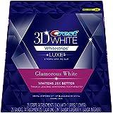 Crest 3D White Luxe Whitestrips Glamorous White - Teeth Whitening Kit 14 Treatments (Packaging may vary)