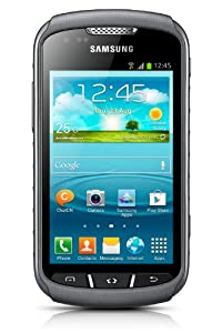 Samsung Galaxy Xcover2 Smartphone débloqué 3G Bluetooth Wi-Fi Android 4 Go Gris (import Europe)