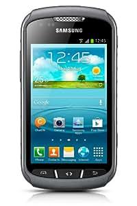 Samsung S7710 Galaxy Xcover 2 Smartphone (10,2 cm (4 Zoll) Touchscreen, 1GHz, Dual-Core, 1GB RAM, 4GB, 5 Megapixel Kamera, Android 4.1) titan/grau