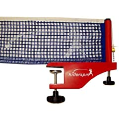 Buy Killerspin 603-01 Zephyr Table Tennis Net and Post Set by Killerspin