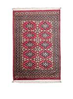 Navaei & Co. Alfombra Kashmir Rojo/Multicolor 150 x 94 cm