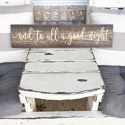christmas-wall-decor-and-to-all-a-good-night-twas-the-night-before-christmas-wooden-sign-rustic-sign