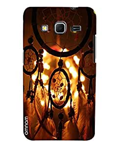 Omnam Beautiful Hanging Architecture Printed Designer Back Cover Case For Samsung Galaxy Core Prime
