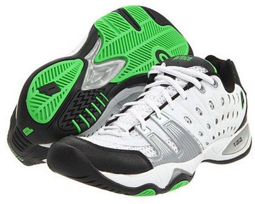 Prince Men's 8P984149-T22 Tennis Shoe,White/Black/Green,13 M