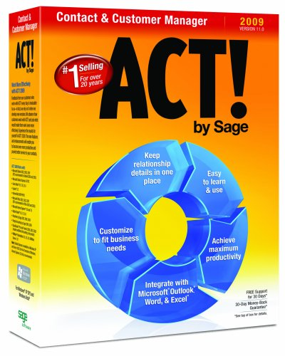 ACT! by Sage 2009 (11.0) [Old Version]