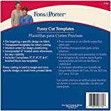 Fons and Porter Fussy Cut Templates