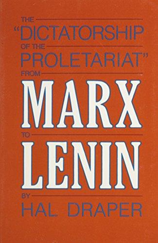 Dictatorship of Proletariat PDF