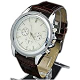 WLM Round Face Unisex Luxury Fashion Quartz Dial Decoration Wrist Watch