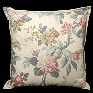Ralph Lauren Decorative Couch Pillows : Amazon.com: RALPH LAUREN Floral LAKE HOUSE Blue 18