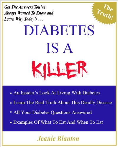 Diabetes Is A Killer