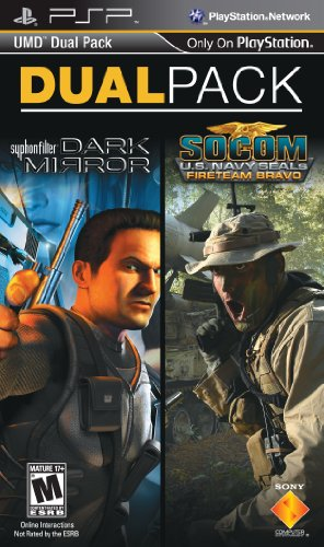 518juTh6FOL Reviews SOCOM: U.S. Navy SEALs Fireteam Bravo and Syphon Filter: Dark Mirror PSP UMD Dual Pack