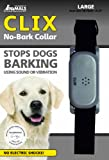 Pet Tag Classic No Bark Collar, Black, Large