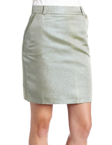 Fred Perry Women's Lurex Pencil Skirt