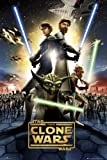 (24x36) Star Wars: The Clone Wars Movie (Group, Credits) Poster Print