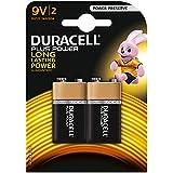 Duracell Plus Power Alkaline Batterien 9V (MN 1604) 2er Pack