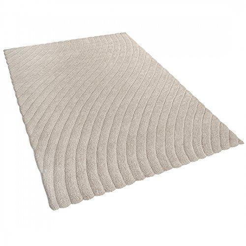 alfombra-poliester-beis-160x230-cm-ordu