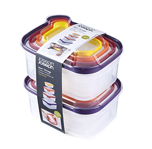 Joseph Joseph Lot de 4 Nid de rangement Lot de 2 - Multicolore