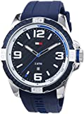 Tommy Hilfiger Watches Herren-Armbanduhr XL BRODIE Analog Quarz Silikon 1791091