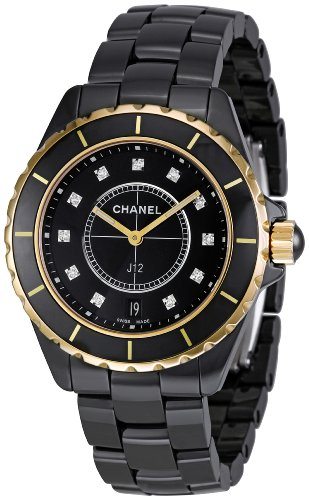 Chanel Men's H2544 J12 Diamond Dial Watch