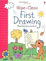 Wipe-Clean First Drawing (Usborne Wipe Clean Books)