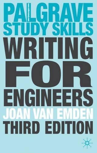 Writing for Engineers (Palgrave Study Skills)