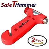 Seat Belt Cutter Window Breaker Car Safety Hammer - Auto Emergency Kit Tool