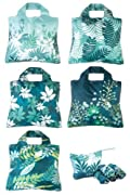 Envirosax Botanica Reusable Shopping Bags 5-pack