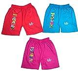 Pushpak Readymades Childrens Shorts (Pack of 3)