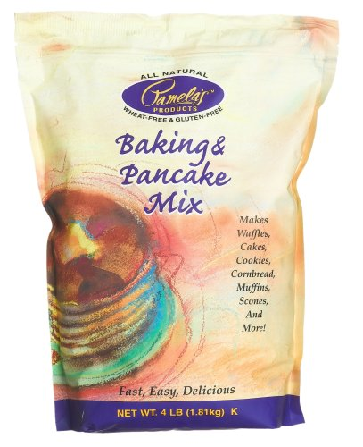 Pamela's Ultimate Baking and Pancake Mix, 4-Pound Bags (Pack of 3)