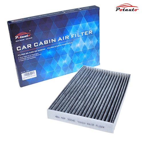 POTAUTO MAP 3004C Heavy Active Carbon Car Cabin Air Filter Replacement compatible with CADILLAC XLR, CHEVROLET Corvette