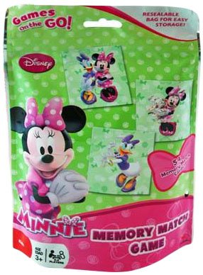 Minnie Mouse Bingo in Foil Bag (Pack of 2), Assorted Colors