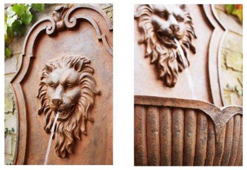 Fontaine Murale Tete Lion
