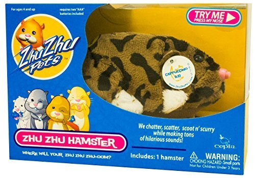 Zhu Zhu Pets Series 4 Hamster Toy Cappuccino - 1