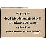 High Cotton Good Friends Good Beer Mat