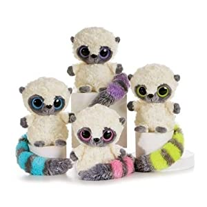 Amazon Com Yoohoo Yellow Lemur With Sound 8 Quot By Aurora