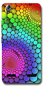 SEI HEI KI Designer Mobile Back Cover Case For Lenovo A6000 Plus