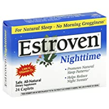 Estroven Dietary Supplement, Nighttime, Caplets, 24 ct.