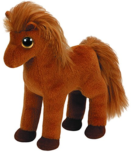 Ty Beanies Gallops Brown Horse - Small - 1