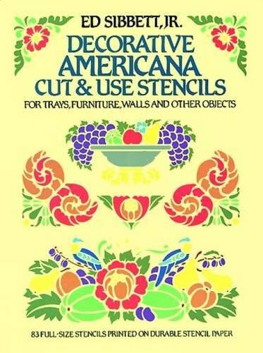 Decorative Americana Cut and Use Stencils (Dover Stencils)