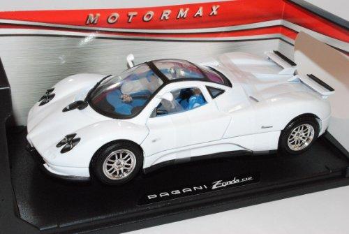 Pagani Zonda C12 Coupe Weiss 1/18 Motormax Modell Auto