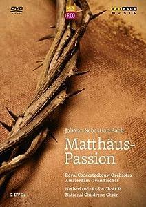 Bach: Matthäus-Passion (Concertgebouw 2012) [2 DVDs]
