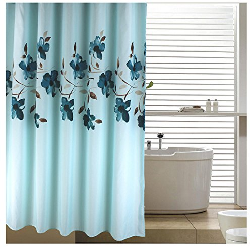 Efor t 72 inch By 78 inch Floral Shower Curtain Fabric