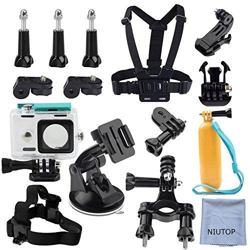 NIUTOP-Xiaomi-Yi-Action-Camera-Accessories-Kit-Set-of-13