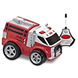 Kid Galaxy Soft And Squeezable Radio Control Fire Truck